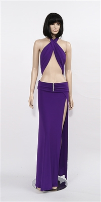 Kamala Collection Sexy Evening Gowns - Jordana halter dress