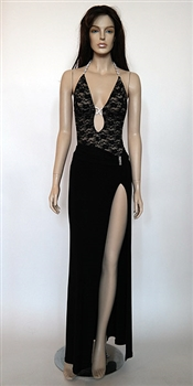 Kamala Collection Sexy Evening Gowns - Monaco lace dress