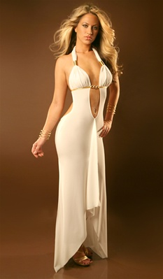 Kylie - Sexy halter gown by Kamala Collection