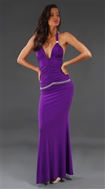 Eva - Elegant halter gown by Kamala Collection