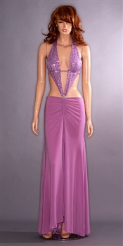 Kamala Collection Sexy Evening Gowns - Marissa dress lavender