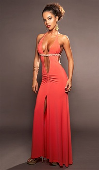 Paradise - Sexy halter dress by Kamala Collection