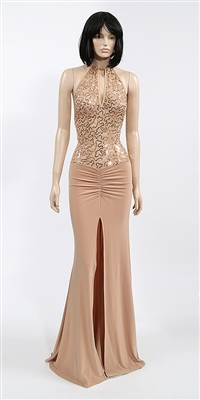 Kamala Collection Sexy Evening Gowns - Bellagio mesh dress