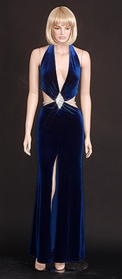 Kamala Collection Sexy Evening Gowns - Vegas flare halter