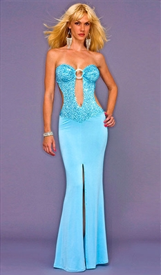 Kamala Collection Sexy Evening Gowns - Jo Jo exotic sequin dress