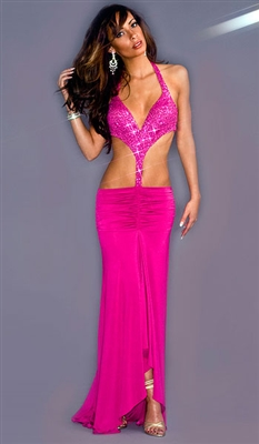 Gypsy - Sequin two-piece dress by Kamala Collection