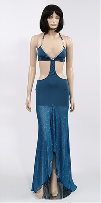 Temptress - Halter dress by Kamala Collection