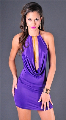 Gia - Short cowl dress