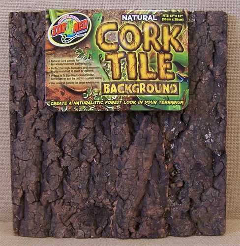 Zoo Med Natural Cork Tile