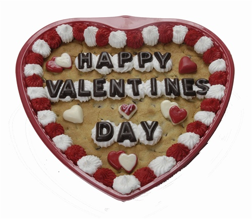 Heart shaped cookie cake valentines day gifts, personalized photo heart cookies, valentines cookie