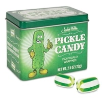 Pickle candy, makes a fun gag gift.