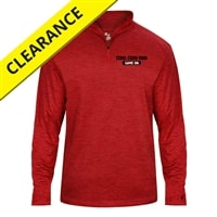 1/4-zip Pullover for men, graphite tonal blend, sizes S-3XL