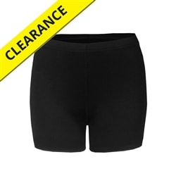 Compression Shorts for women.  Available in sizes S-2XL. Black only