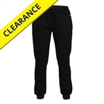 Jogger Pant for women Available in sizes S-2XL. Black only.