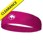 Kanga Headband.  One size, black or hot pink