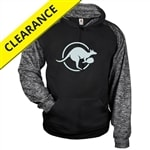 Kanga Sport Hoodie for adults. Sizes S-3XL, black
