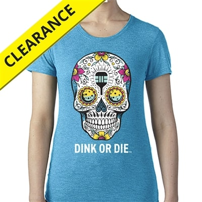 Sugar Skull Tee for Women, available in size S-2XL