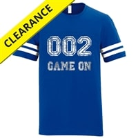 Tailgate Tee for Men. Sizes S-3XL, Vintage Smoke and Vintage Royal