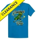 "Relish the Game in this fun ""pickle-themed"" 100% cotton t-shirt. Sizes S-2XL"