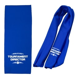 Customized Pickleball Cooling Towel featuring a screen-printed design.