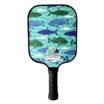 Fish Series Composite Paddle by Eastport Pickleball-choose from two vibrant designs inspired by the islands of Bahama.