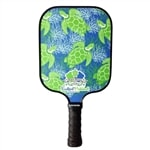 Turtle Series Composite Paddle by Eastport Pickleball-choose from four vibrant designs inspired by the islands of Bahama.