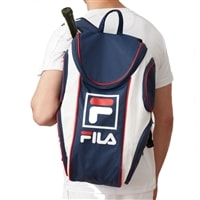 Fila Sport Backpack, choose from black/gray or navy/white/red.