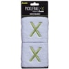 Pickleball-X Wristbands, choose from black or white