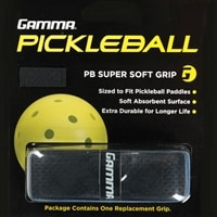 Non-tacky feel on this grip, soft with excellent moisture absorbing power, color black
