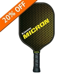Micron Pickleball Paddle by Gamma