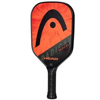 Radical Elite Composite Pickleball Paddle, polymer core and fiberglass face.