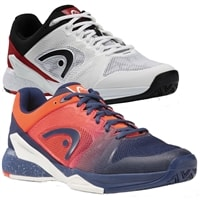 Revolt Pro Shoe by Head for Men in blue/orange or white/red, sizes 7-14