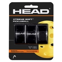 HEAD Xtreme Soft Pickleball Over Grip, choose from black, blue, pink, red, yellow or white