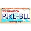 Rather Be Playing Pickleball License Plate Frame