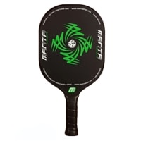Tornado F5 Edgeless paddle features a polymer core and graphite face, choose from green or red.