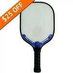 Extreme Point 5 Lite Composite pickleball paddle, choose from green, red, pink and blue.