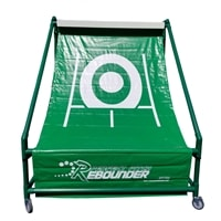 Perfect Pitch Rebounder Net, practice dinks, lobs and overheads on this net