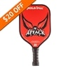 Attack 2.0 Paddle bearing the majestic eagle design with black cushion grip and black edge guard.