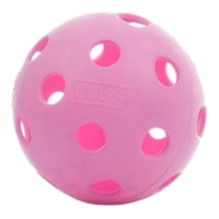 Midnight Indoor Pickleball, custom dyed ball exclusively from PickleballCentral, choose from black, blue, red, pink or coral.