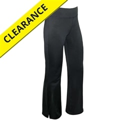 Motion Pant for women, black polyester spandex pant, available in sizes small-2XL