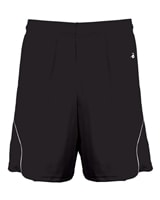 Motion Shorts for women, choose from black or bright yellow with contrast trim, sizes S-2XL