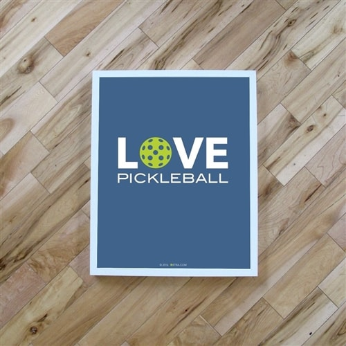 Pickleball Poster, choose from three different designs.