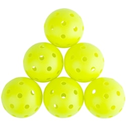 P7 Outdoor Pickleball, available in six count packages