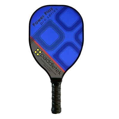 Power Play Pro, teardrop design, available in 9 bold colors with black low-profile edge guard.