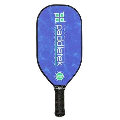 The Horizon Pickleball Paddle features an elongated design for added power.