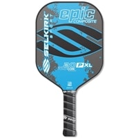 20P-XL Epic Paddle in two eyecatching colors, lime green, cyan blue, or red