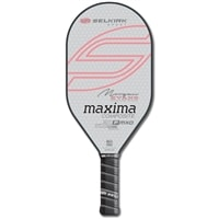 The Maxima 21P Morgan Evans Signature Composite Pickleball Paddle available in several colors.