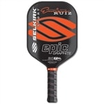 Enrique Ruiz Signature 30P Epic Graphite Paddle, available in seven bright colors.