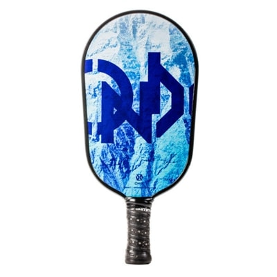 Summit Graphite Pickleball Paddle, elongated shape for greater reach.