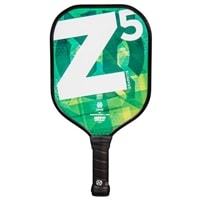 Graphite Z5 Paddle, eye-catching design in eight colors options, black cushion grip